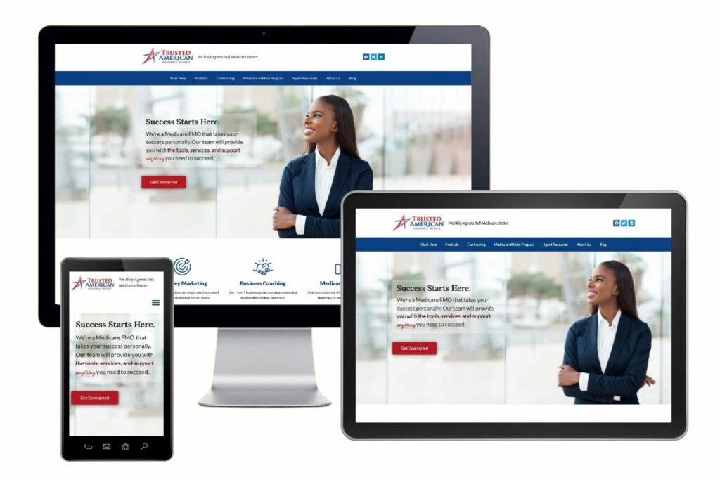 trusted american insurance agency broker website