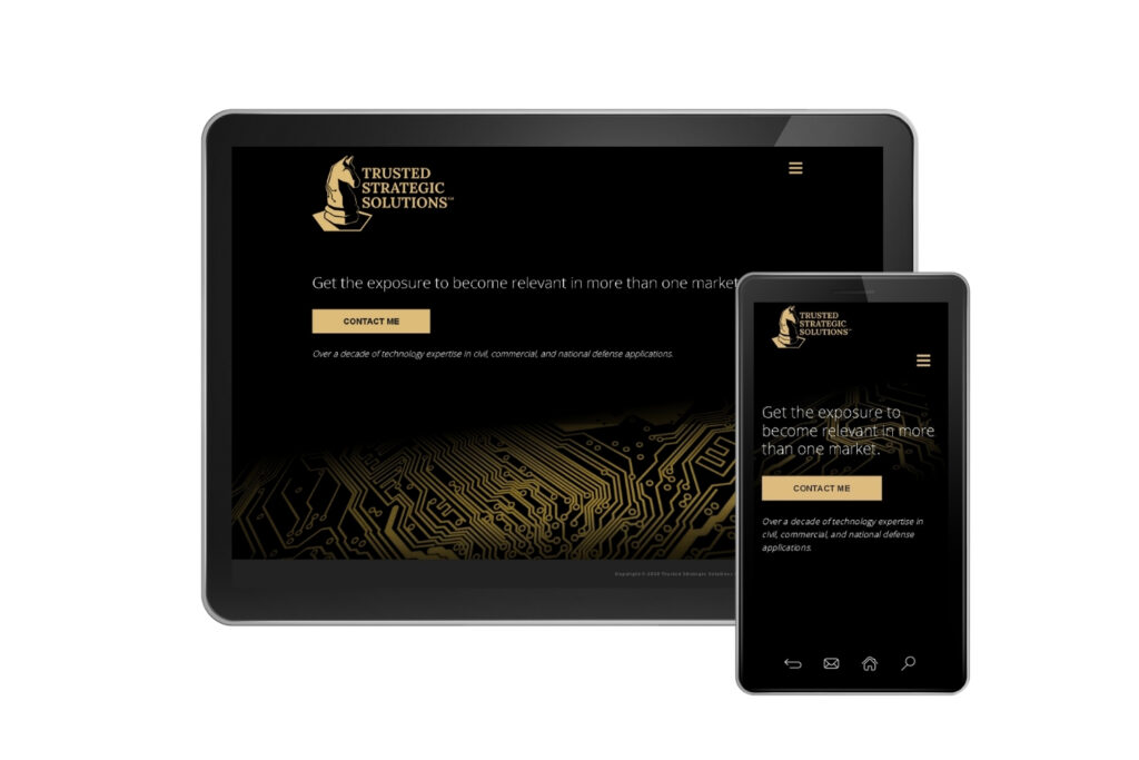 trusted strategic solutions website mobile