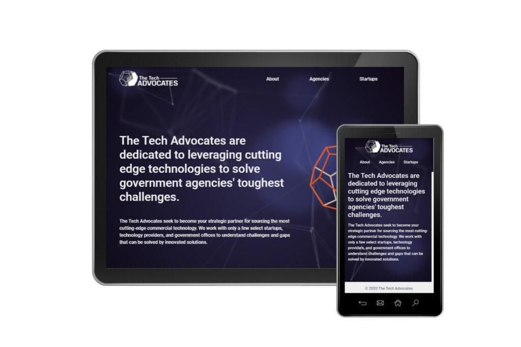 the tech advocates screenshot mobile